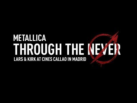 Metallica Through The Never (Introduction By Lars & Kirk In Madrid)