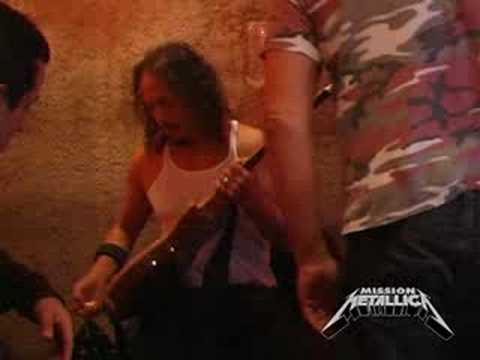 Mission Metallica: Fly On The Wall Clip (July 10, 2008)