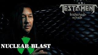 """TESTAMENT - The recording process for """"Brotherhood of the Snake"""" (OFFICIAL TRAILER)"""
