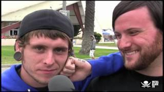 Whitechapel hangs out at Warped Tour 2010