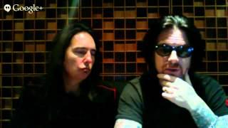BLACK STAR RIDERS - Live Fan Q&A Interview With Ricky Warwick And Damon Johnson
