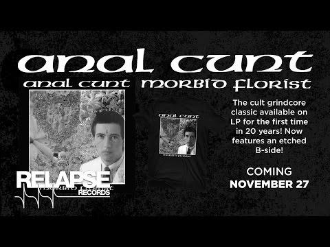 ANAL CUNT - Morbid Florist Vinyl Reissue (Offical Trailer)