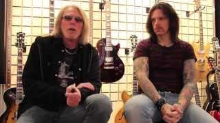 BLACK STAR RIDERS On Picking Ricky Warwick For Thin Lizzy (OFFICIAL INTERVIEW)