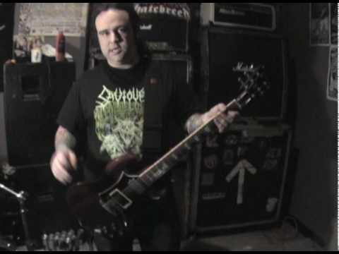 3 INCHES OF BLOOD - Guitar Lessons With Shane Clark Pt 1