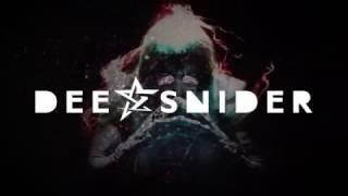 "Dee Snider ""We Are The Ones"" - out now!"