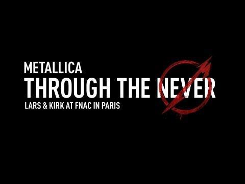 Metallica Through The Never (Lars & Kirk At FNAC In Paris)