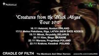 Cradle of Filth - Album Quotes / Tour Trailer