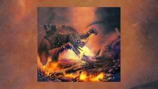 Allen Lande - Down From The Mountain Lyric Video (Official / New Studio Album / 2014)