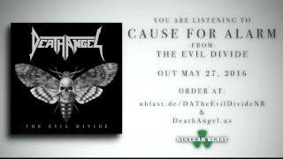 "DEATH ANGEL - ""Cause For Alarm"" (OFFICIAL TRACK)"