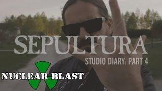 SEPULTURA - 2016 Studio Diary #4 (OFFICIAL STUDIO TRAILER)