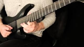 "Pyrithion ""The Invention of Hatred"" guitar performance demonstration"