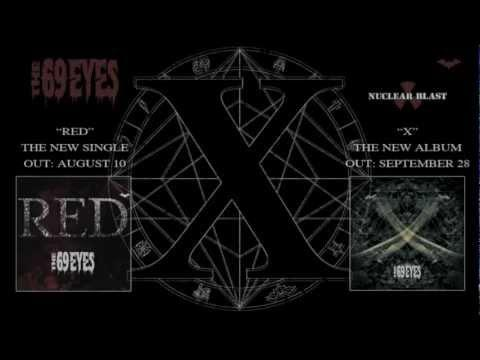 THE 69 EYES - Red - (OFFICIAL LYRIC VIDEO)