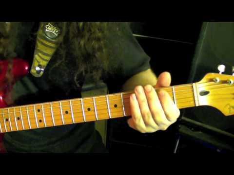 IRON MASK - Black As Death / Guitar Riffs / Dushan Petrossi