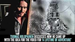 TUOMAS HOLOPAINEN On The Inspirations Behind The Official Video For 'A Lifetime Of Adventure'