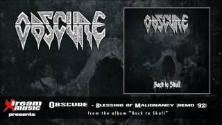 OBSCURE - Blessing of Malignancy (Demo '92) [2016]