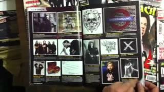 Terrorizer's Secret History of Earache magazine flick-through