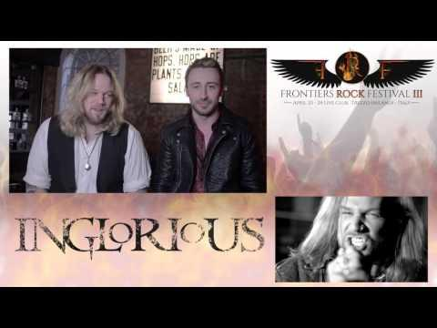 Inglorious -Frontiers Rock Festival 3 - April 23 & 24