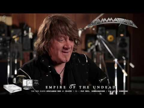 Gamma Ray / Kai Hansen 'Empire Of The Undead' Interview Part 3