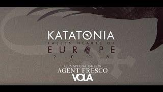 Katatonia Fallen Hearts of Europe 2016 Tour Trailer