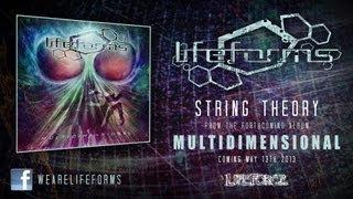 LIFEFORMS - String Theory (full track lyric video)