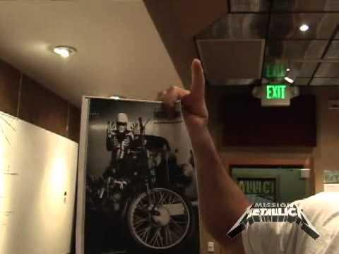 Mission Metallica: Fly On The Wall Clip (June 3, 2008)