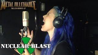 "METAL ALLEGIANCE - Alissa White-Gluz talks about the ""Fallen Heroes"" EP (OFFICIAL TRAILER)"