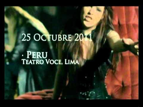 SIRENIA - Ailyn Announcing South America Tour 2011