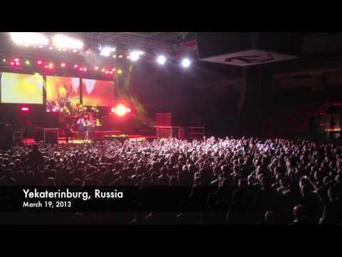 MANOWAR - Yekaterinburg, Russia - March 19, 2013