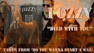 FOZZY - Died With You (Album Snippet)