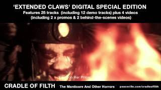 Cradle of Filth - The Manticore and Other Horrors: Extended Claws trailer