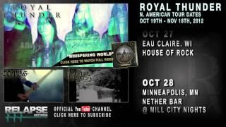 ROYAL THUNDER - Fall 2012 North American Tour Teaser