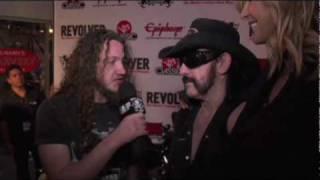 Metal Blade TV asks - Lemmy or Halford? at Revolver's Golden Gods Awards