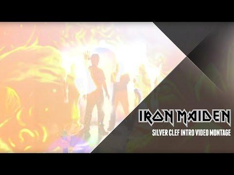 Iron Maiden - Silver Clef Intro Video Montage
