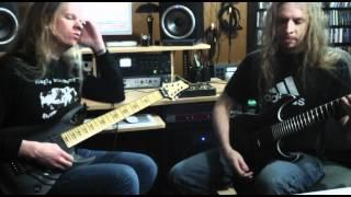 "Jeff Loomis and Joe Nurre play  ""Mercurial"""