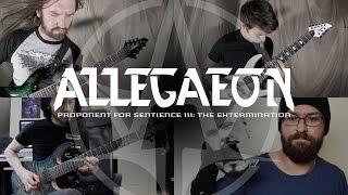 "Allegaeon ""Proponent For Sentience III - The Extermination"""