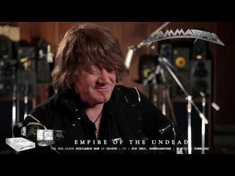 Gamma Ray / Kai Hansen 'Empire Of The Undead' Interview Part 4