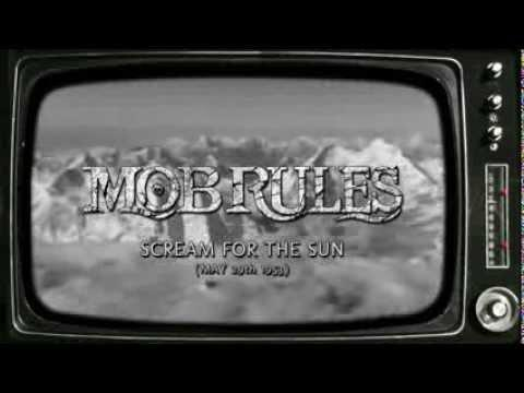 MOB RULES - Scream For The Sun // Official LYRIC VIDEO