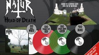 "Natur ""Head Of Death"" Vinyl opening - Gatefold Pop-up Sleeve!"