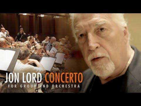 JON LORD CONCERTO Documentary From The DVD