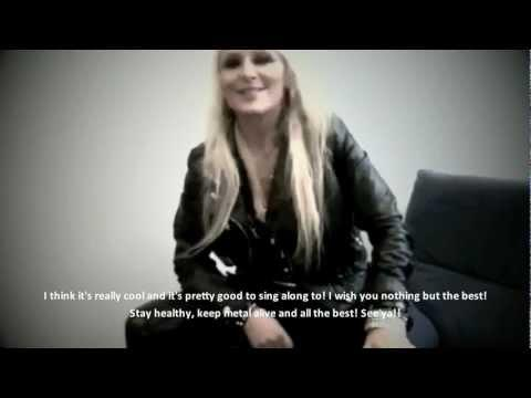 DORO - On Merry Metal X-Mas (OFFICIAL INTERVIEW)