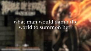 Cradle of Filth - Manticore (Lyric Video) (from The Manticore And Other Horrors)