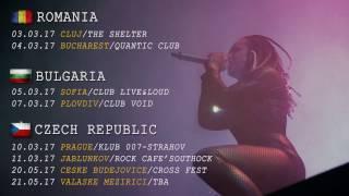 JINJER - European Tour 2017 (Trailer) | Napalm Records