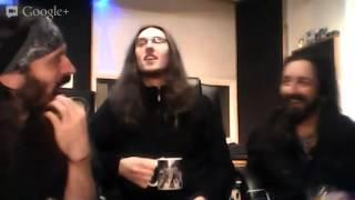 Evile Live Q&A from the Studio