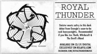 "ROYAL THUNDER - ""Mouth of Fire"""