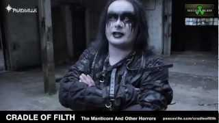 Cradle of Filth - Dani Filth discusses the genesis of the band