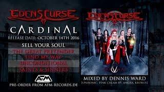 EDEN'S CURSE - Cardinal (2016) // official album player // AFM Records