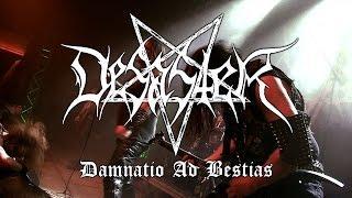 "Desaster ""Damnatio Ad Bestias"" (OFFICIAL VIDEO)"