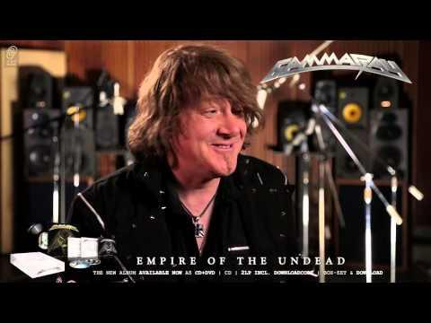 Gamma Ray / Kai Hansen 'Empire Of The Undead' Interview Part 7