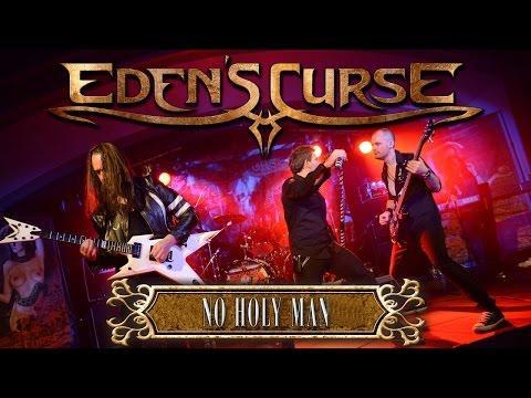EDEN'S CURSE - No Holy Man (2015) // Official Live Clip // AFM Records