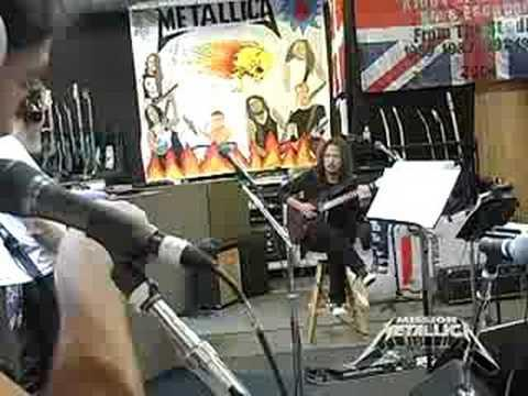 Mission Metallica: Fly On The Wall Clip (July 5, 2008)